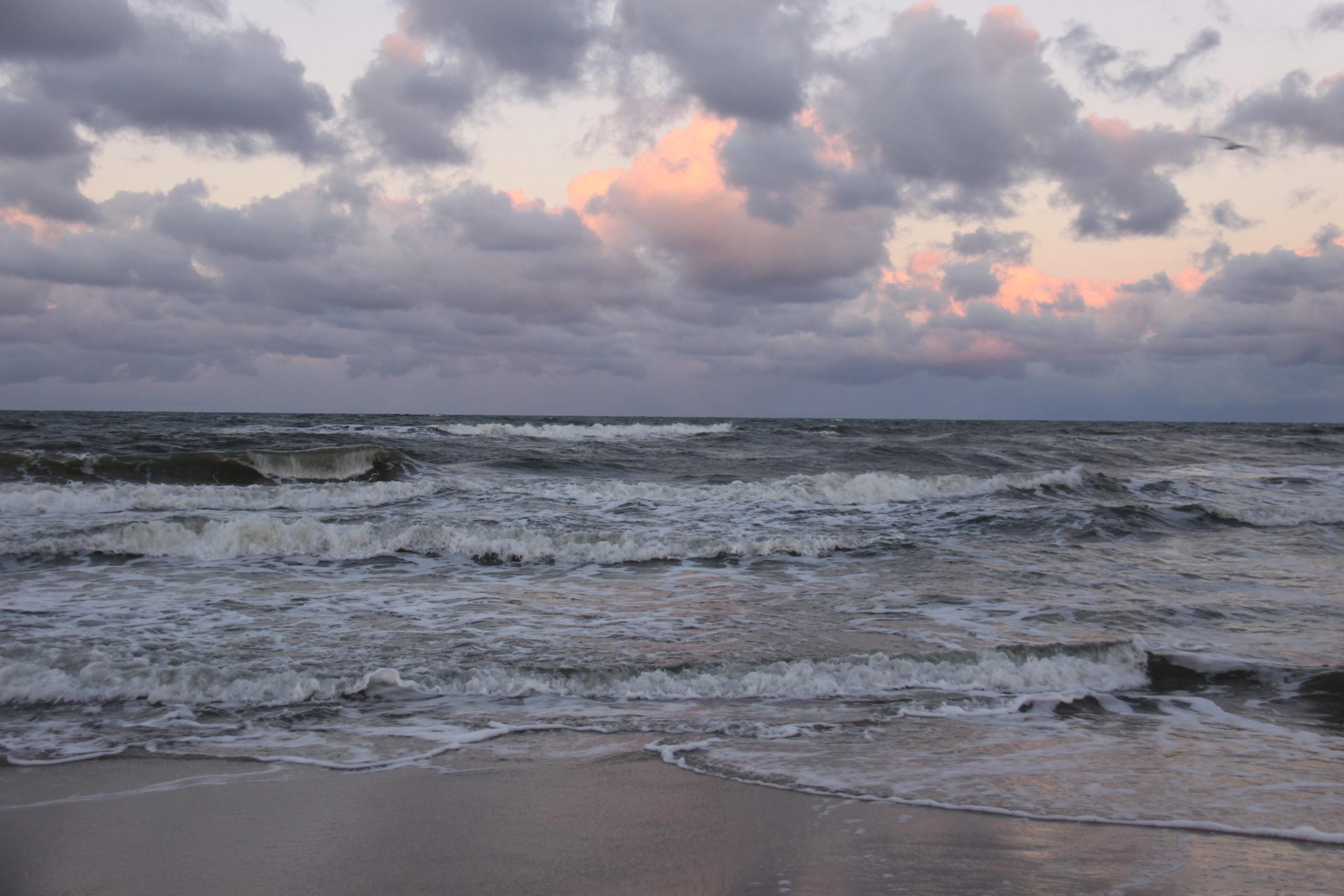 Plaża zimą - Władysławowo
